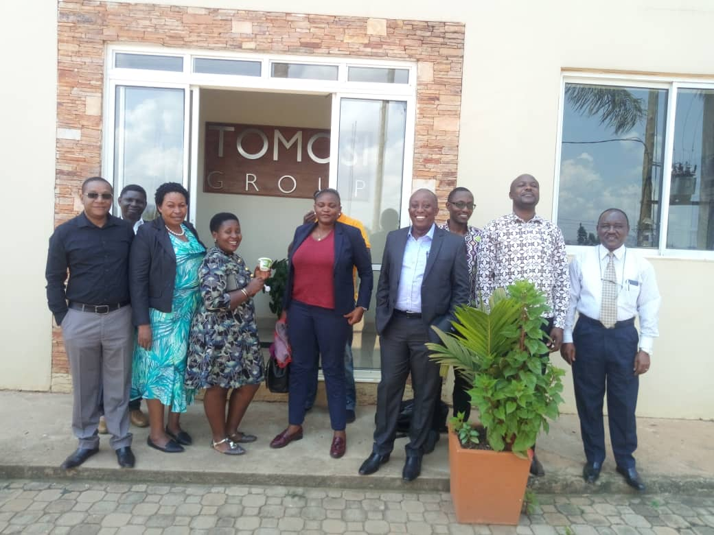 CCTTFA Stakeholders Pay Courtesy Visit To Tomosi Group