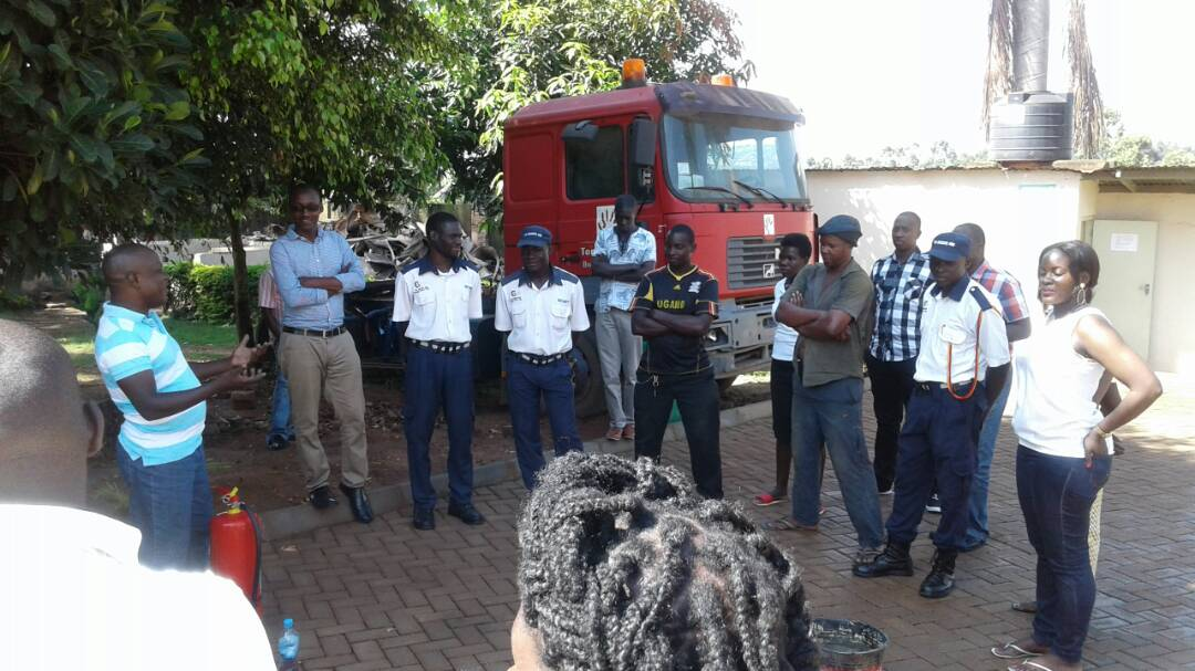 Corban Holds Fire Drills At Tomosi Business Park