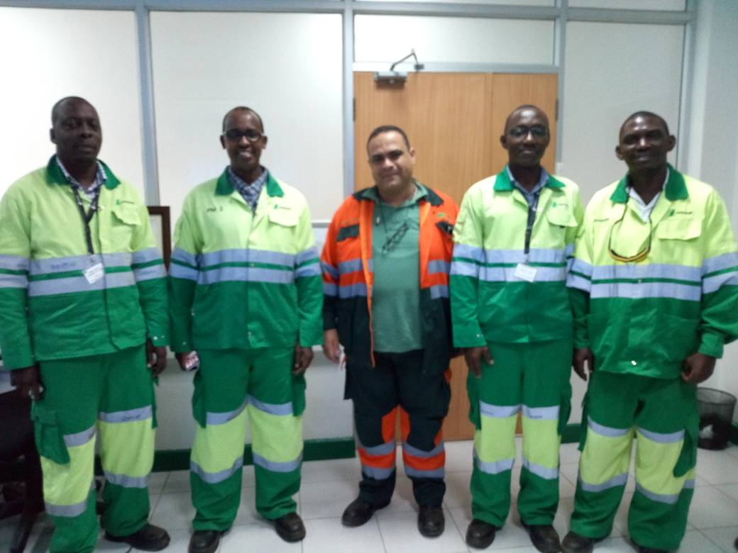Tomosi Group Top Management Visits Hima Cement