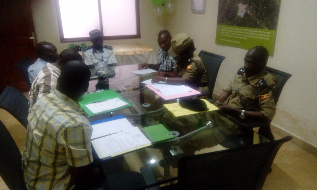 GM Security Receives Police Annual Inspection From Uganda Police
