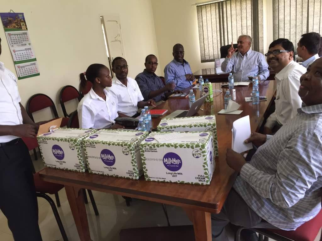 GM Security Meets Tororo Cement Management