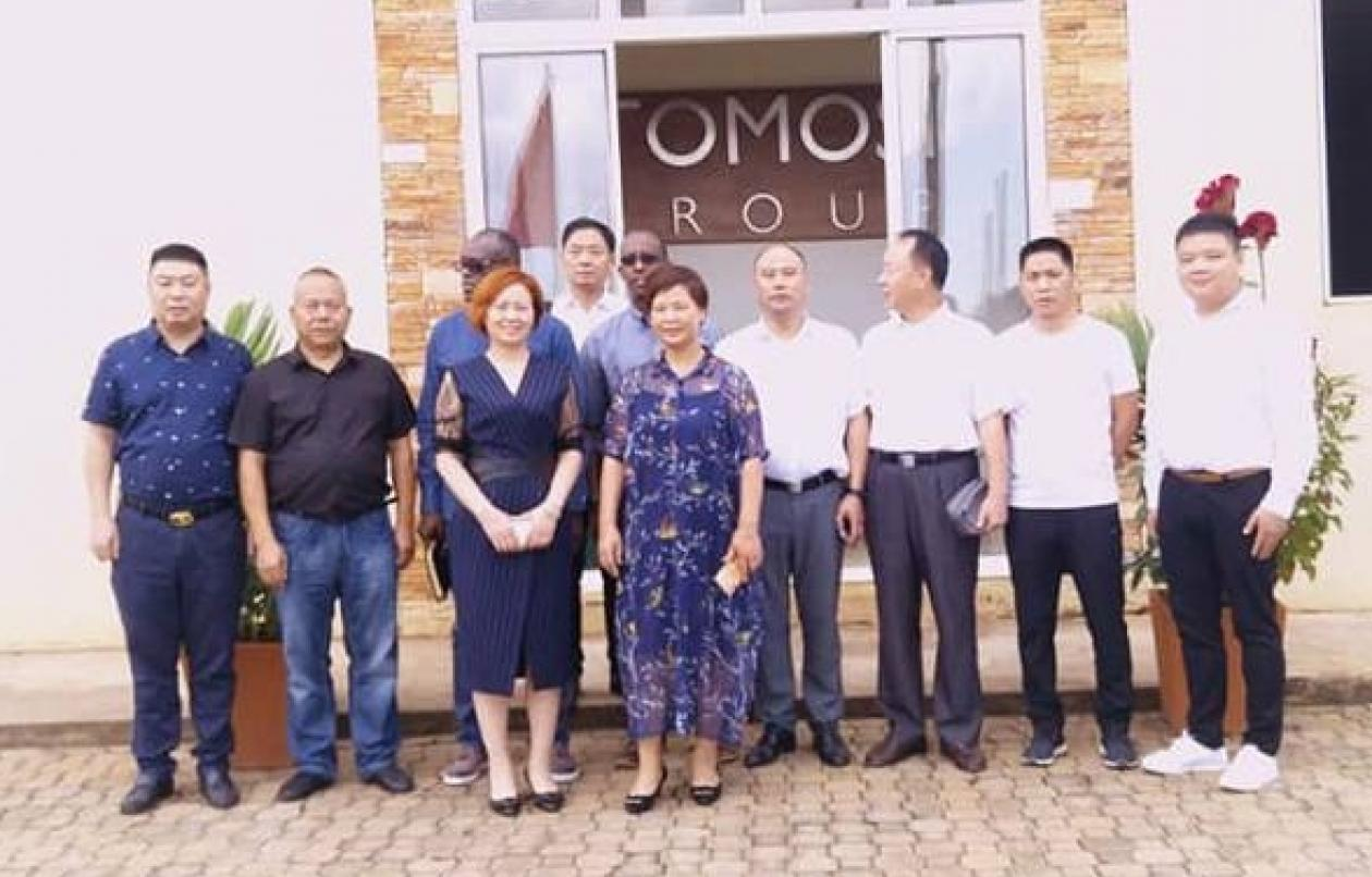 CHINESE DELEGATION PAYS COURTESY CALL TO TOMOSI GROUP