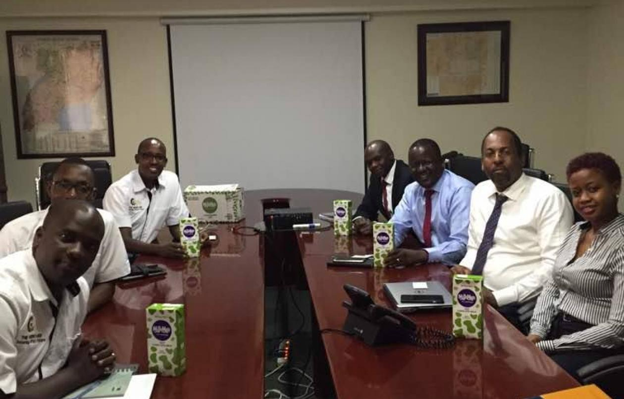 The Gideons's Men Meet Bank Of Africa Officials