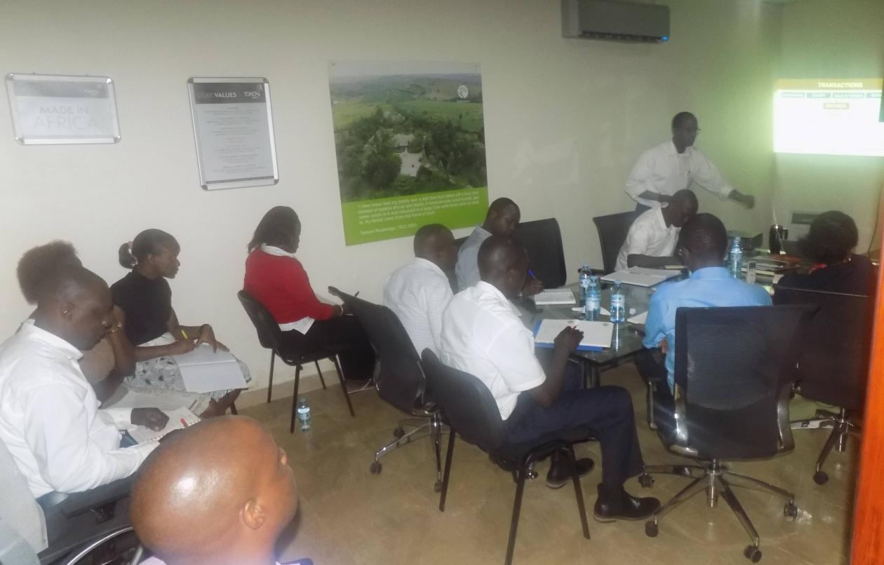 Tomosi Group Staff Undertake Seventh Gaining Scale Training Session