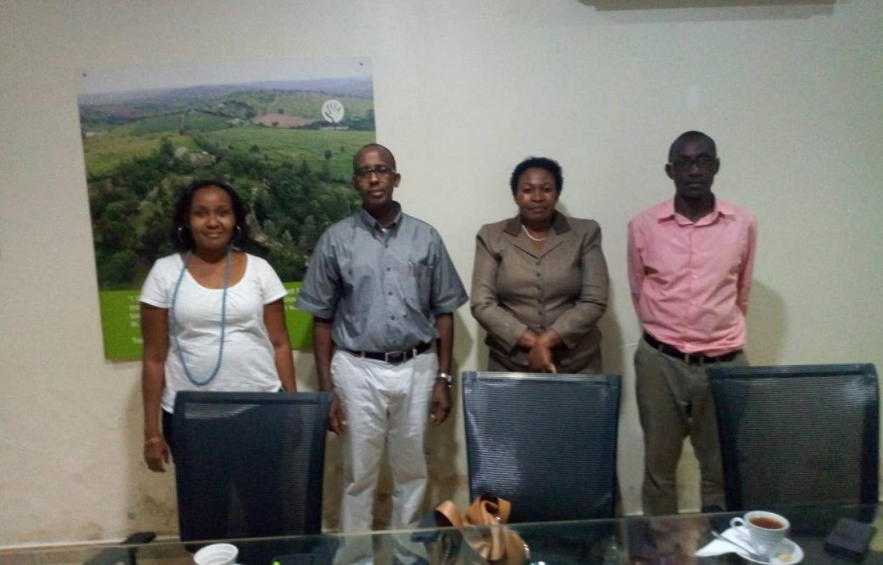 TPA DELEGATION PAYS COURTESY VISIT TO TERP MEDIA
