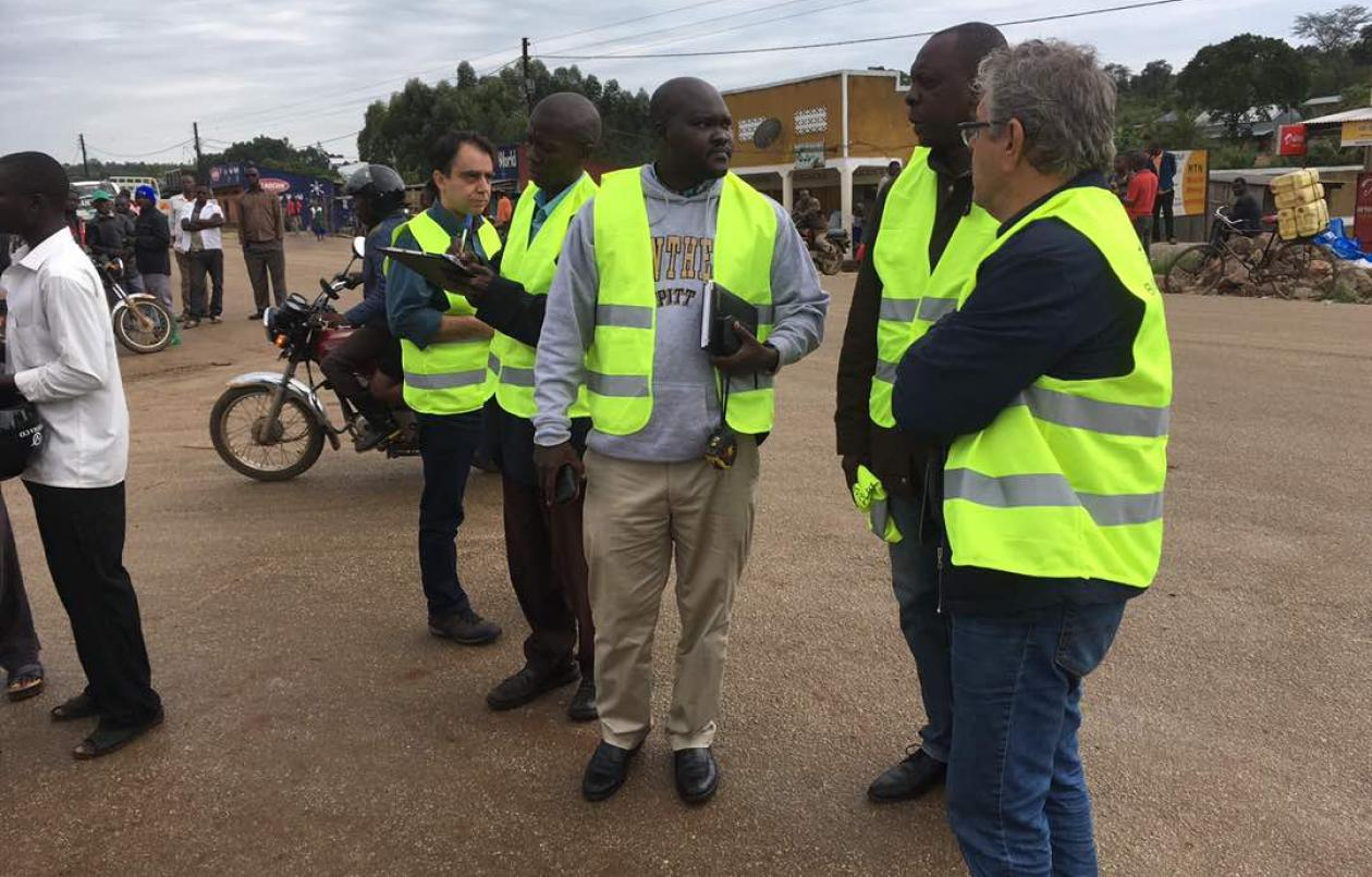 Tomosi Construction And Greek Investors Visit Lumegere-Ssembabule Road
