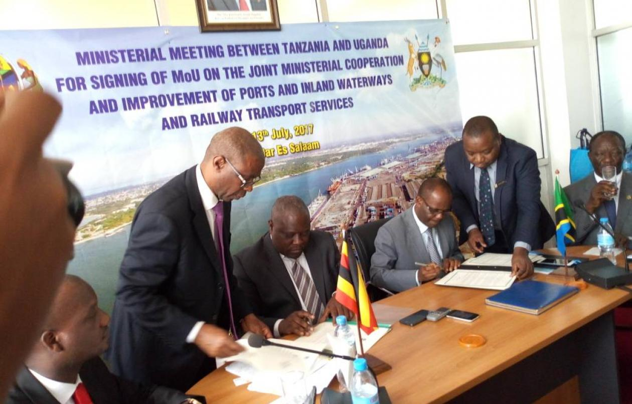 Uganda, Tanzania Sign MOU On Inland Waterways, Ports And Transport Services